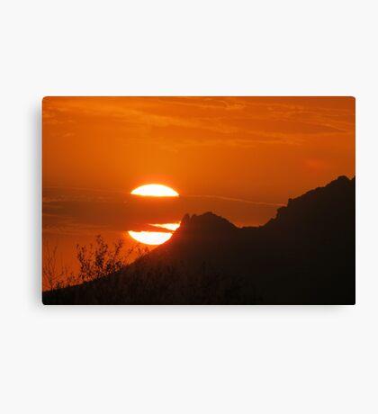 Sunset Splendor  Canvas Print