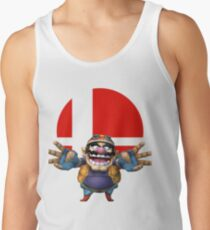 wario t-shirt smash bros brawl  Tank Top