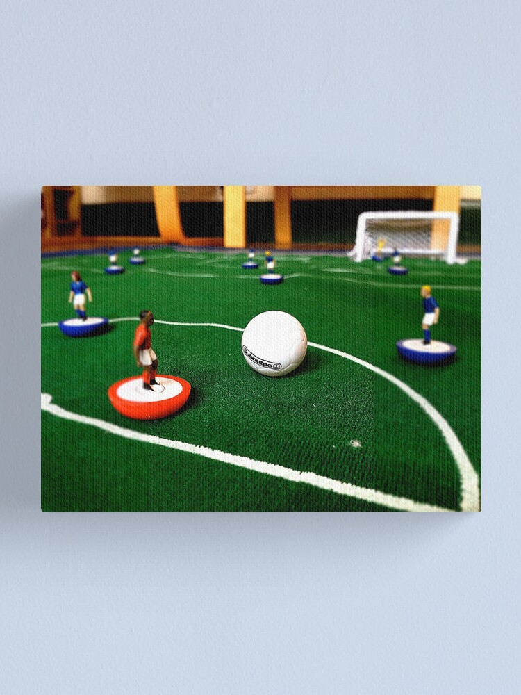 Alternate view of Just flick to kick Canvas Print