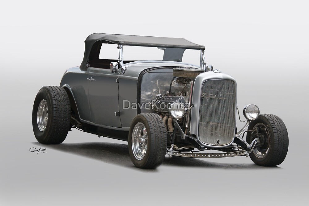 1932 Ford Roadster 'Gray Wolf' I by DaveKoontz