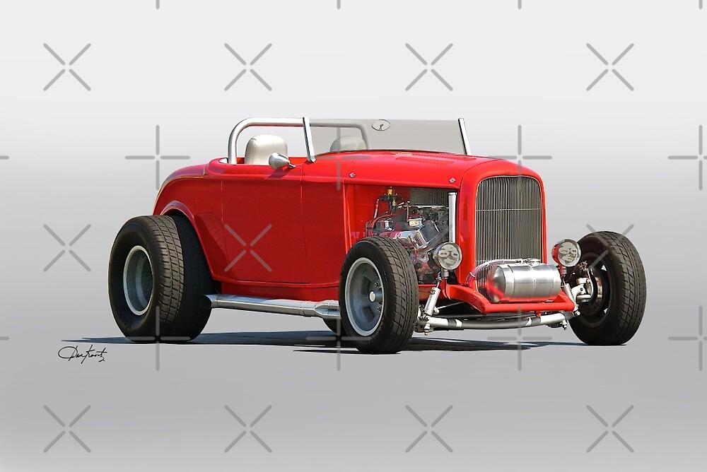 1932 Ford 'Road Warrior' Roadster by DaveKoontz
