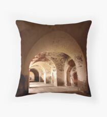 Fortunate Arches Throw Pillow