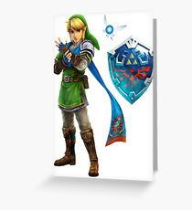 The Legend of Zelda  Greeting Card