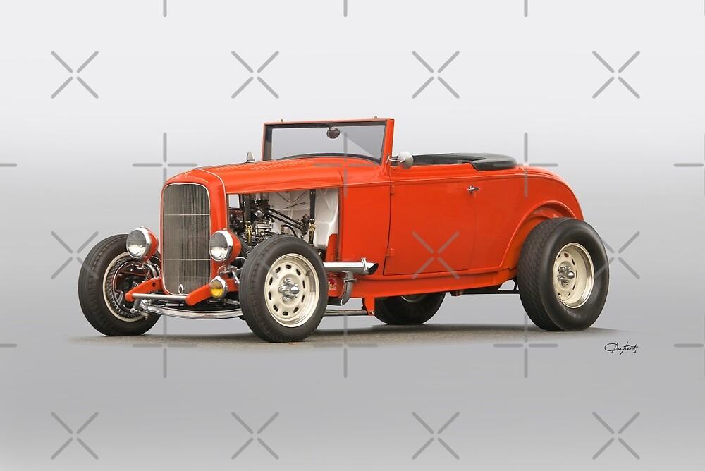 1932 Ford 'OJ Special' Cabriolet by DaveKoontz