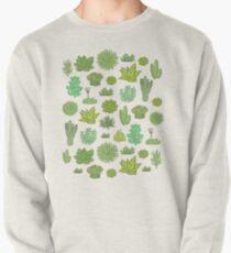 Succulents Pullover Sweatshirt
