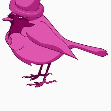 The Tit-bird by oscarrothe