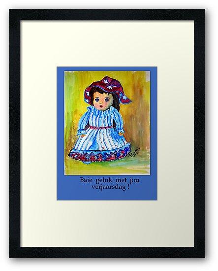 Vir Jou Verjaarsdag Framed Prints By Elizabeth Kendall Redbubble
