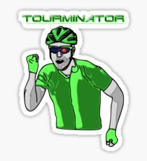 Tourminator Sticker