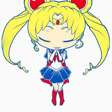 Chibi Sailormoon by ihateleeks