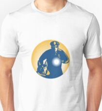 Security Guard Policeman Police Dog Unisex T-Shirt