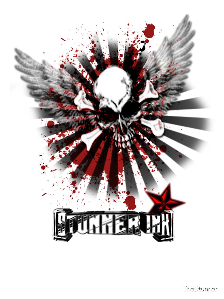 Stunner Ink Cross Wings [Poster] by TheStunner