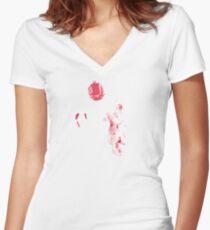 Hugo Chavez Women's Fitted V-Neck T-Shirt