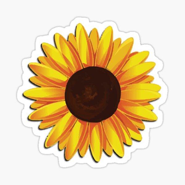 Sonnenblume Sticker