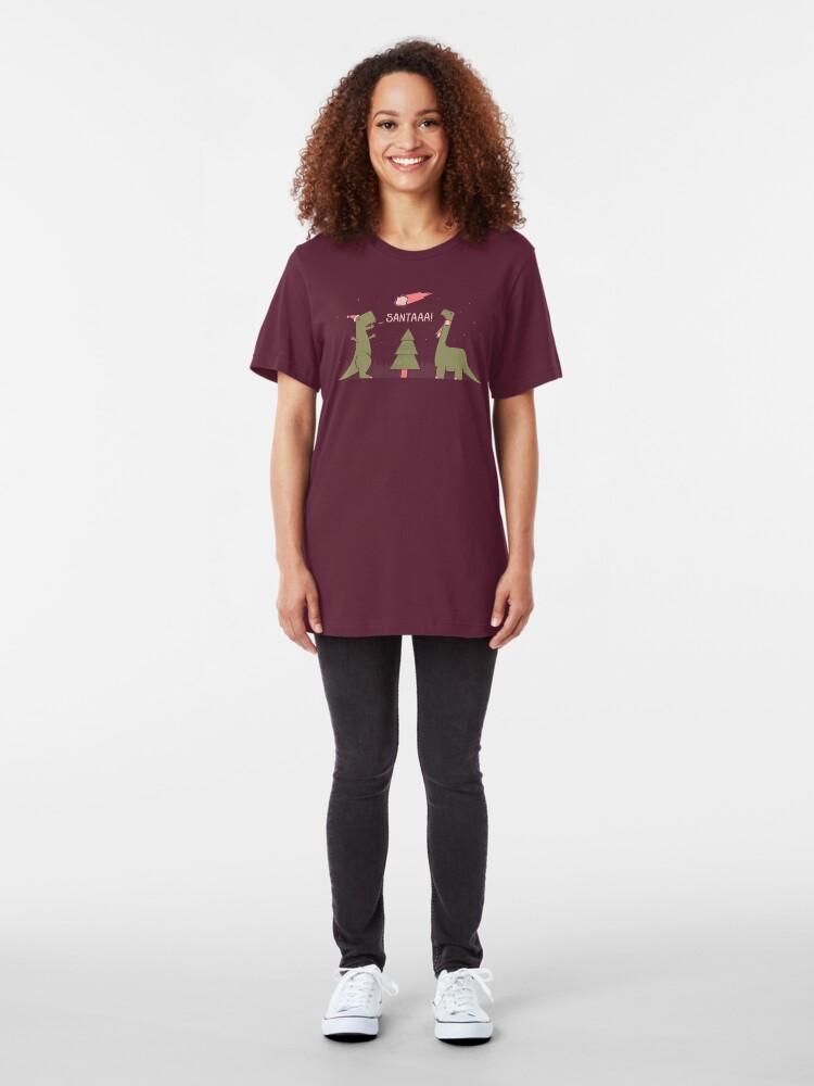 Alternate view of Merry Extinction Slim Fit T-Shirt