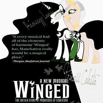 My Little Pony Wicked Poster by twilightphe0nix