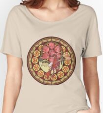 Fooly Cooly (FLCL) Stained Glass Women's Relaxed Fit T-Shirt