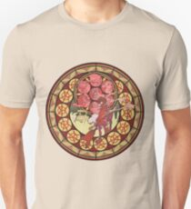 Fooly Cooly (FLCL) Stained Glass Unisex T-Shirt