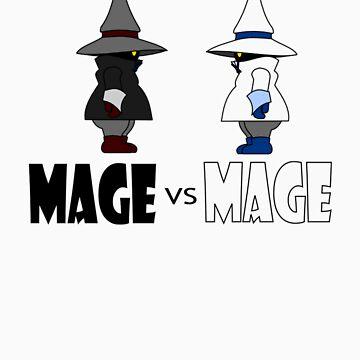 Mage vs Mage by twilightphe0nix