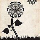 Digital Flower by bharmondesign