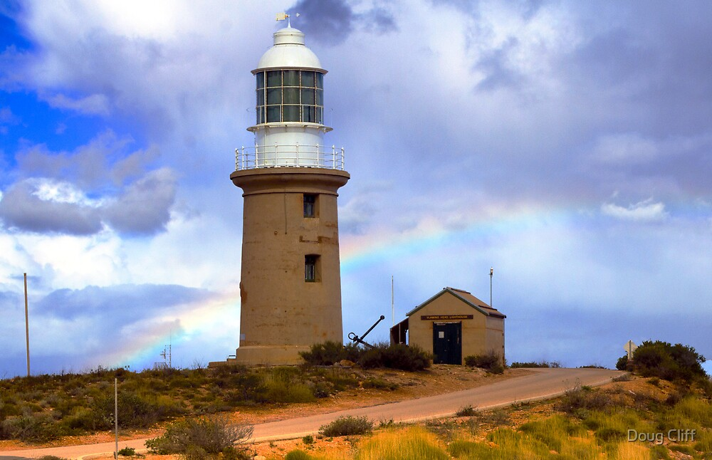 Vlamingh lighthouse Exmouth WA by Doug Cliff