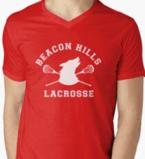 Beacon Hills Lacrosse Men's V-Neck T-Shirt