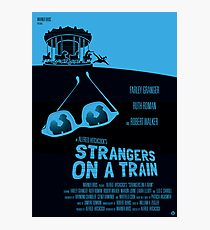 Alfred Hitchcock's Strangers On A Train Photographic Print
