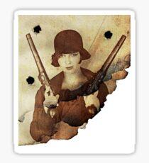 LouLou Bangs!!! Sticker