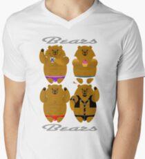 BEARS Men's V-Neck T-Shirt