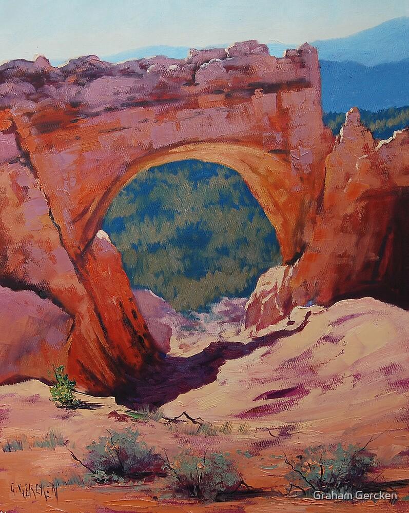 Desert Arch Landscape by Graham Gercken