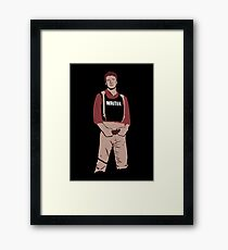 Captain Castle Framed Print