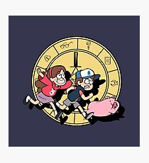 The Adventures of the Mystery Twins Photographic Print
