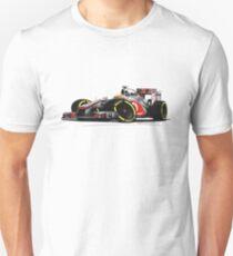 F1 2012 - McLaren MP4-27 - Lewis Hamilton Unisex T-Shirt