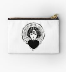 the spiral obsession  Zipper Pouch
