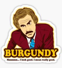 Ron Burgundy Sticker