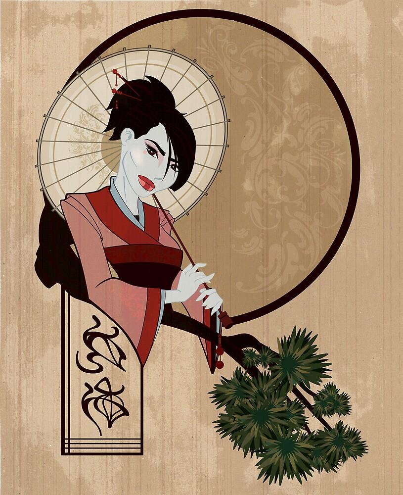 Jap Girl by JohnyArtguy42