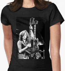 Jimmy Page Womens Fitted T-Shirt