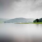 A Very Wet Day, St Marys Loch, Scottish Borders by Iain MacLean