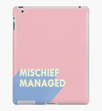 mischief managed.  iPad Case/Skin