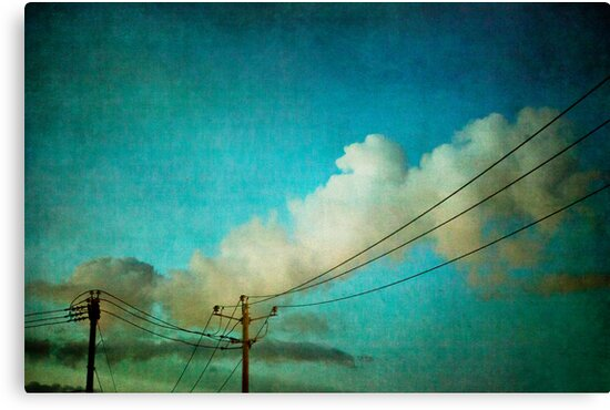 Late Evening Sky by sandra arduini