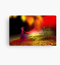 Colorful Stroll Canvas Print