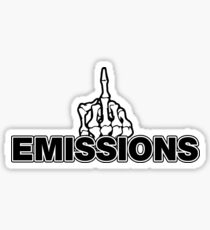 Fuck Your Emissions Sticker