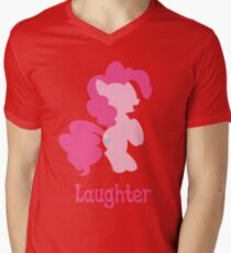 Pinkie Pie - Laughter Mens V-Neck T-Shirt