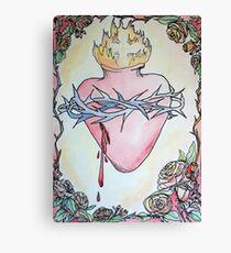 Sacred Heart of Jesus 6 Canvas Print