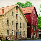 The Prallsville Mill # 4 by Debra Fedchin