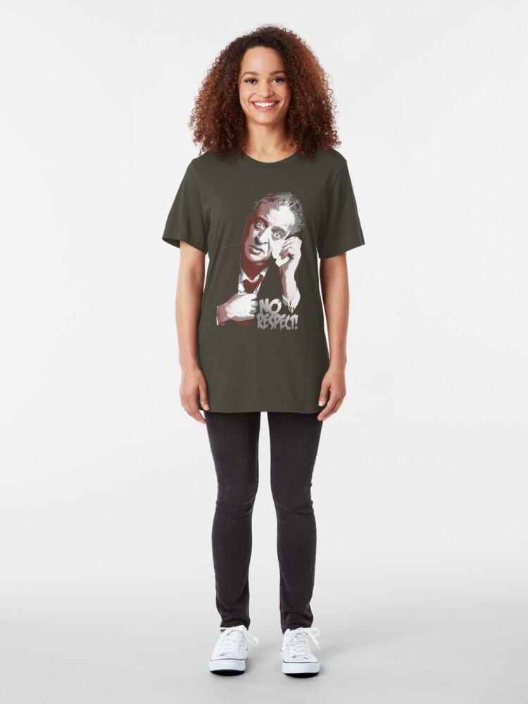 Alternate view of rodney dangerfield Slim Fit T-Shirt