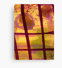 The Shadow Outside My Window Canvas Print