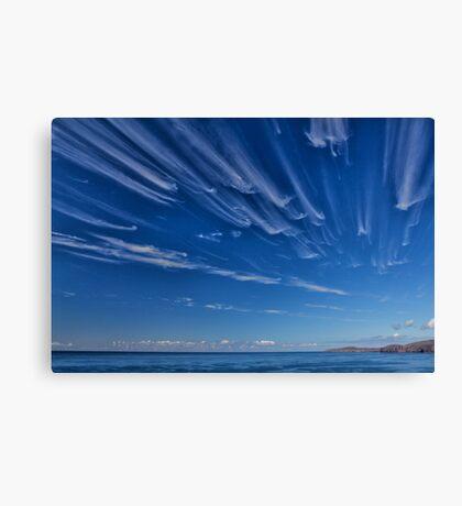 Cape Wrath Cloud Race Canvas Print