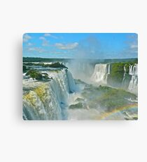 Mighty Iguazu Canvas Print
