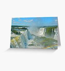 Mighty Iguazu Greeting Card
