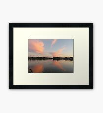 Anchor Cannon vs. Cloud Monster Framed Print